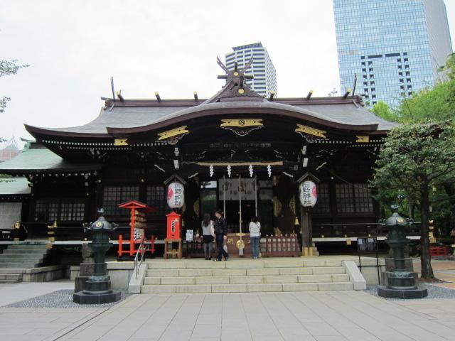 新宿熊野神社パワースポット効果!八咫烏、なでしこジャパン勝利へ