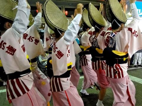 小金井阿波おどり2015の日程や連、ライブ中継!浴衣美人コンテストは?
